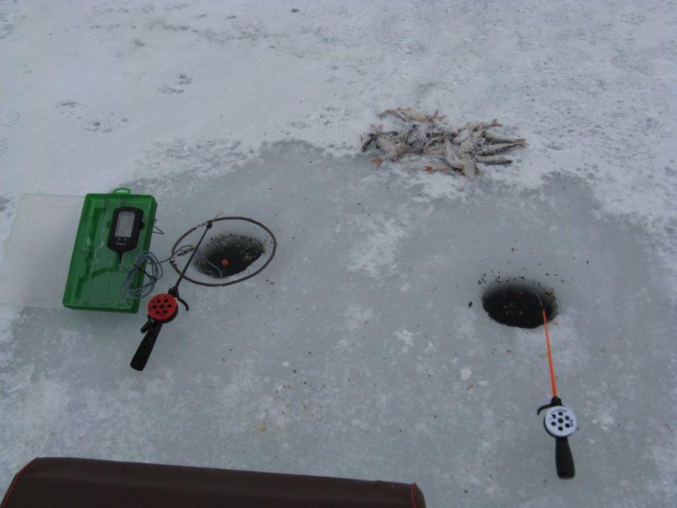 Рыбалка на плотву с эхолотом Практик ЭР-6 Pro